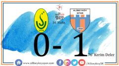 Uzunköprüspor 0-1 Alibeyköyspor