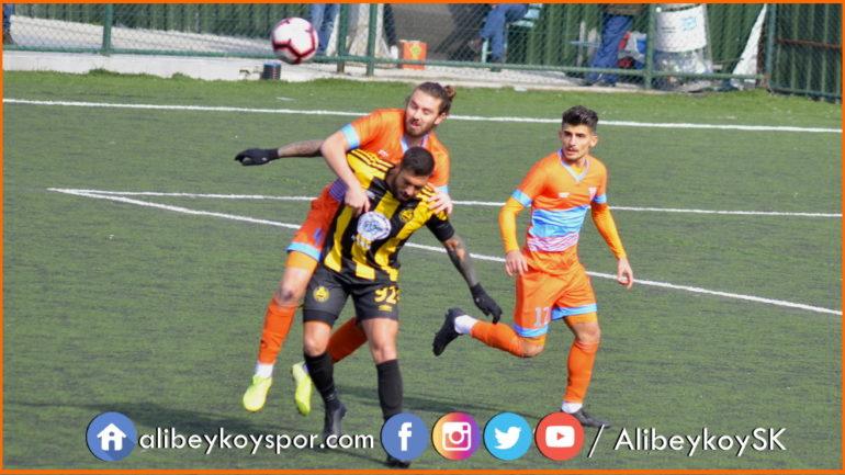 Alibeyköyspor 2-1 Tekirdağspor