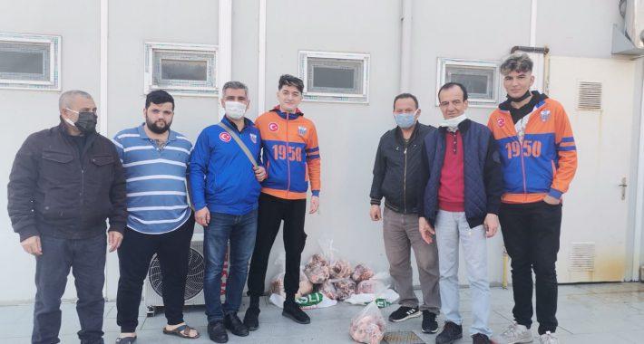 Muammer Saka'dan ihtiyaç sahiplerine gıda yardımı