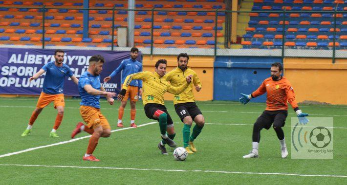 Alibeyköyspor'umuz ilk maçında göz doldurdu